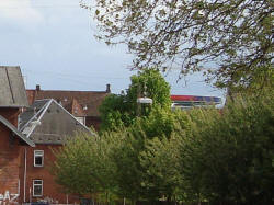 Regnbuen set fra Langelandsgade