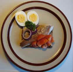 En dejly røget makrel fra Odin Seafoods i Jelling - så er der også til en makrelmad i morgen...